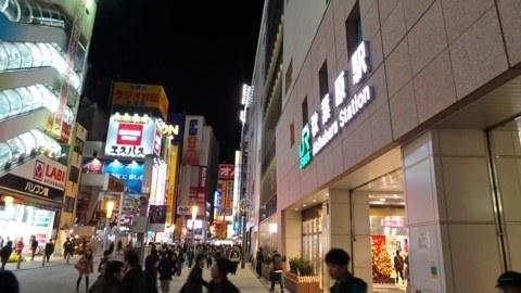 GALAXY CameraとiPhone5で夜景撮り比べ。