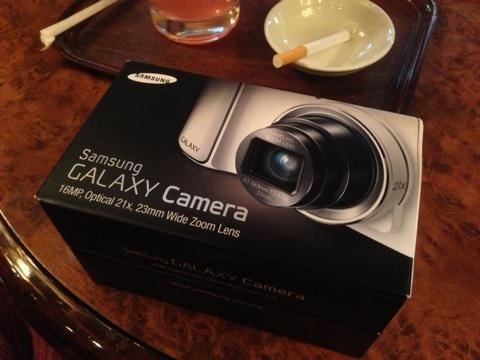GALAXY Camera開封の儀。