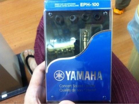 YAMAHA EPH-100を買いました。