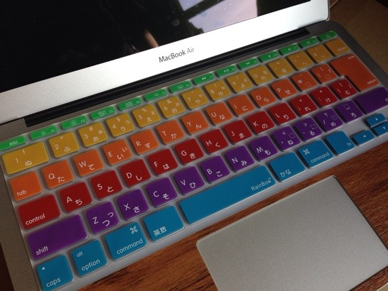 MacBook Airのキーボードカバーを新調しました。
