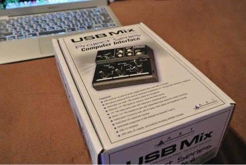 ART USBMIXを買いました。