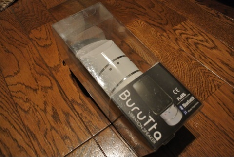 振動スピーカーBuruTta BRT-G1を買いました。