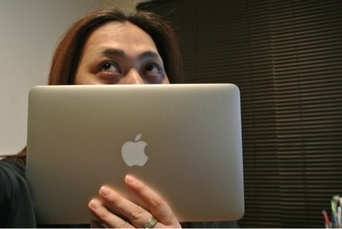 MacBook Air mid2013開封の儀。