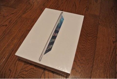 iPad Airを開封してみました。