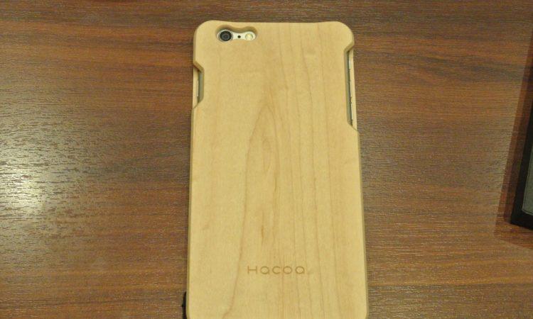【iPhone6 Plus】Hacoaの木製ケースを買いました。