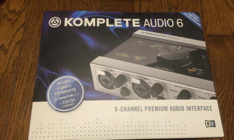 【マルチ出力】KOMPLETE AUDIO 6は低価格なのに多機能。