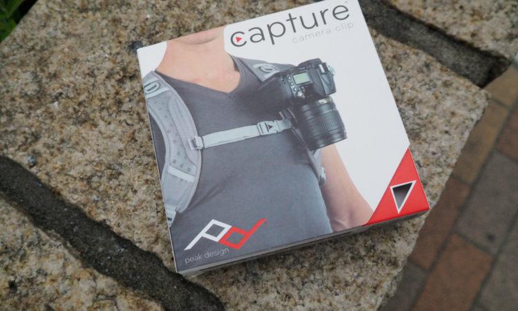 【Peak Design】 キャプチャーカメラクリップを買いました。
