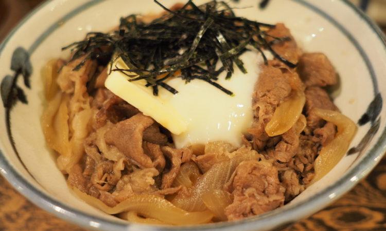【牛の力】東京牛丼って知ってる?