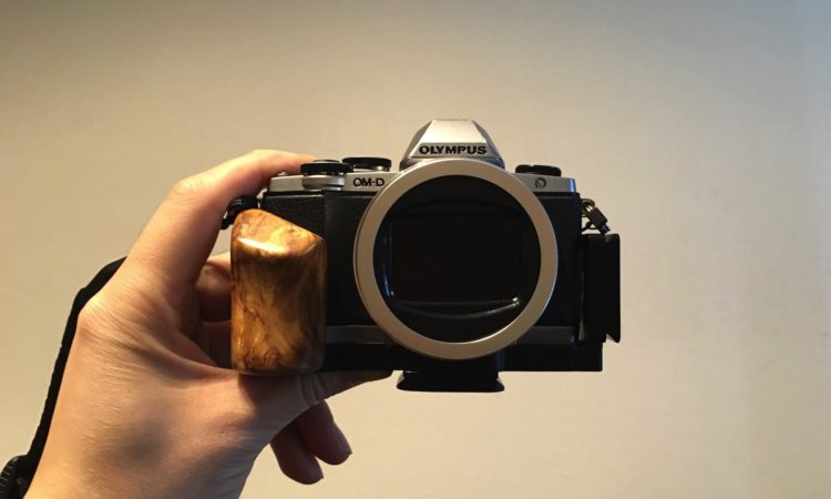 【OM-D E-M10】焦点工房の木製グリップを買いました。