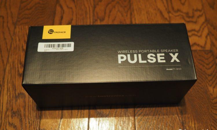 【レビュー】TaoTronics Pulse X 14W ワイヤレス ポータブル ステレオ スピーカーをチェックする。