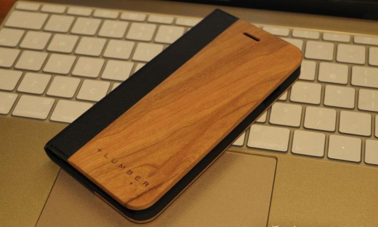 【木製ケース】+LUMBER by Hacoa iPhone 7 FLIPCASEを買いました。