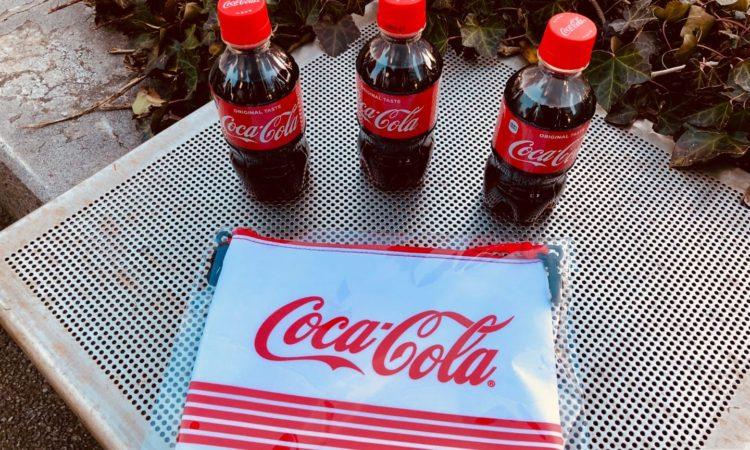 【ファミマ】コーラを3本買ってオリジナルサコッシュをもらいました。