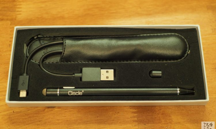 Ciscle タッチペン 極細 スタイラスペンを試す。