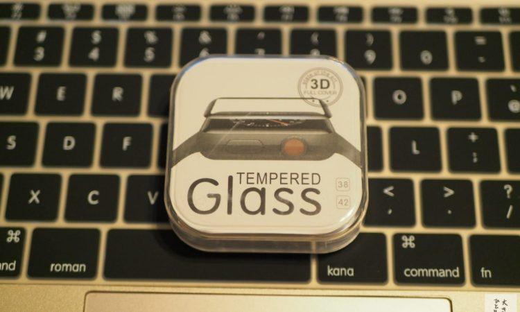 【全画面保護】AmazonでApple Watchの安い液晶保護フィルムを買いました。